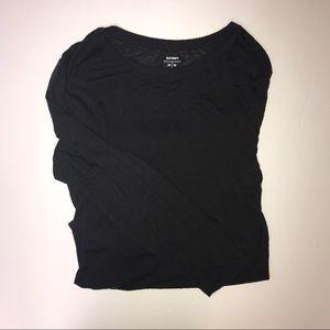 Old Navy Long Black Shirt